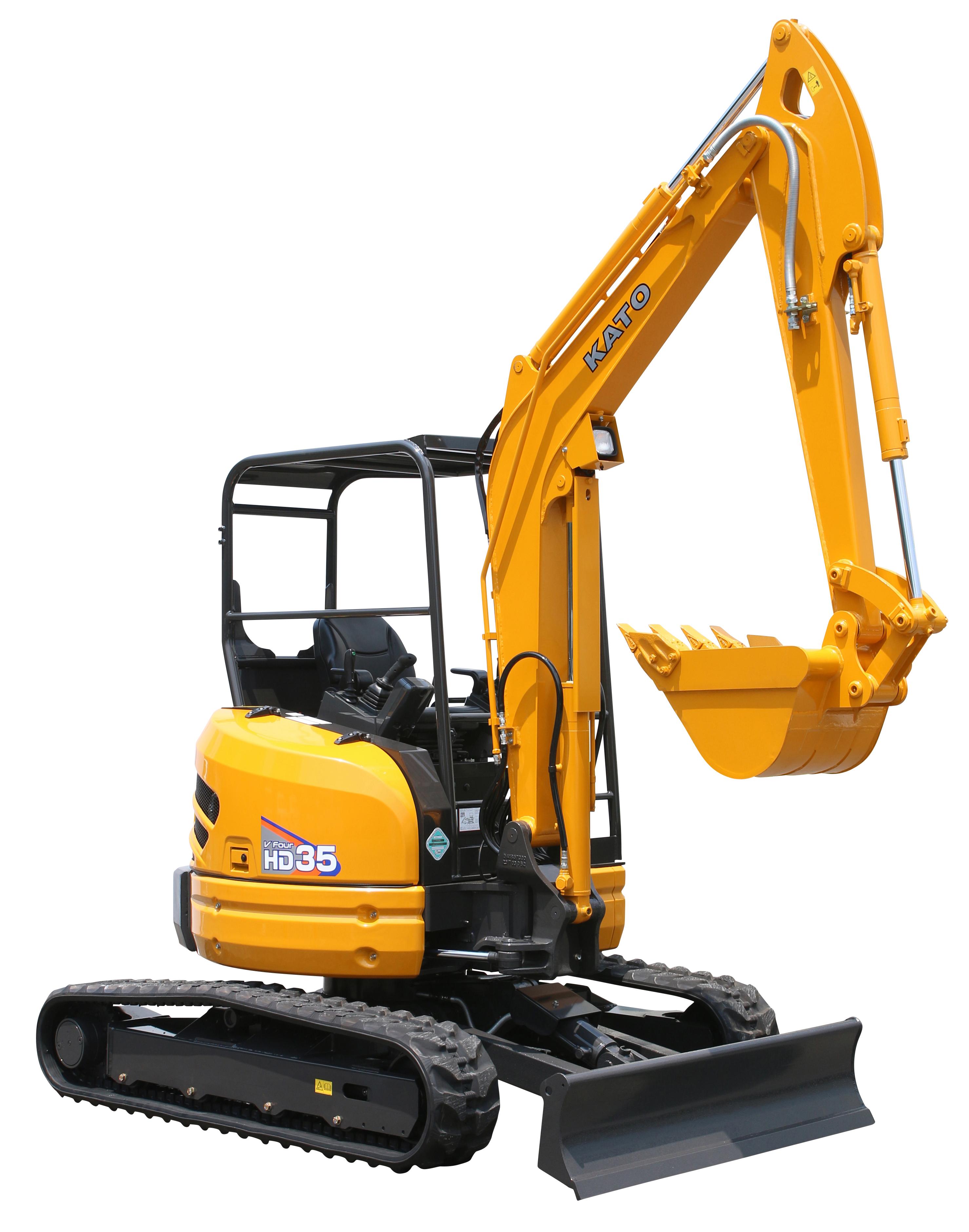 35V-4 Mini Excavator – KATO-CES
